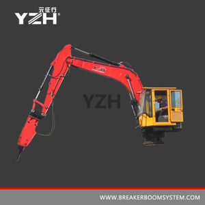 Pedestal Boom Breaker System para pantalla Grizzly
